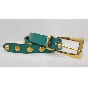 Lion Studded Belt
